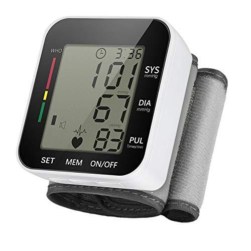 Expower Digitale Handgelenk Blutdruckmessgerät mit LCD-Display Leicht und Tragbar Blutdruckmessgerät Elektronische Vollautomatische Blutdruck-Die universelle Sicherheit