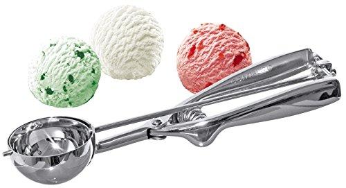 Hochwertiger Gastro Eisportionierer 40mm Edelstahl - Profi Qualität - sehr robust & langlebig 4 cm Edelstahl