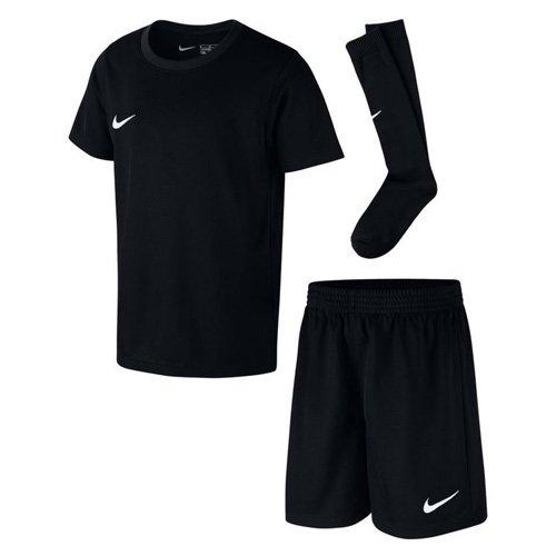 Nike Kinder Park Kit Trikotset, Schwarz (Black/White), XL (122-128)