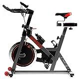 Hop-Sport Indoor Cycle Bravo Indoorcycling mit integrierten Pulssensoren Speed Bike Kettenantrieb Bluetooth