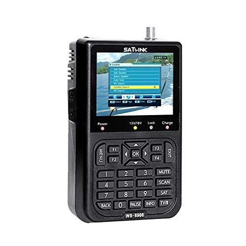 Hylotele Profi Satfinder, SAT Messgerät Satelliten Finder Satellitensucher LCD-Display-Daten Digitaler Sat Finder Messgerät 3.5in