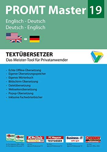 PROMT Master 19 Englisch-Deutsch