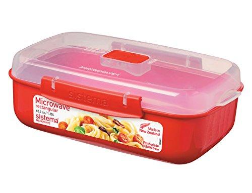 Sistema 1114 Mikrowellen-Box 1,25 L, rot