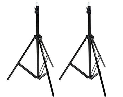 AmazonBasics - Kamera - Beleuchtungsstativ, Aluminium, 2,13 m, 2er-Pack
