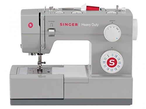 Singer Heavy Duty 4423, Elektrische Nähmaschine -- Sehr schnell -- 23 integrierte Stiche -- Freiarm   Profi Haushaltsnähmaschine für dicke Stoffe   Nutzstich-Nähmaschine zum Nähen von Leder und Jeans mit Zubehör