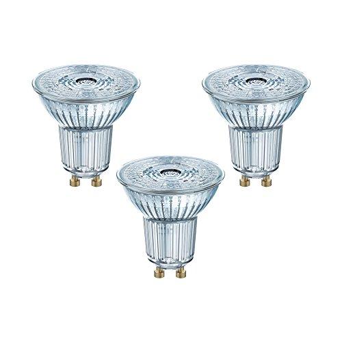 Osram LED-Reflektorlampe| Warm White (2700 K) | Sockel GU10 |ersetzt Reflektorlampen mit 50 W | 4,30 W | LED BASE PAR16