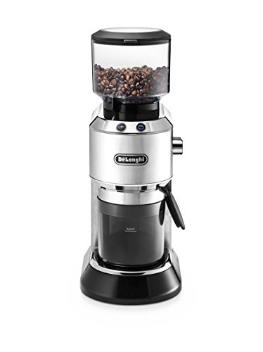 De'Longhi KG 520.M Elektrische Kaffeemühle, silber