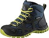 McKINLEY Unisex-Kinder Santiago Pro Aquamax Trekking- & Wanderstiefel Grün (Green Lime/Blue Dark 906), 35 EU