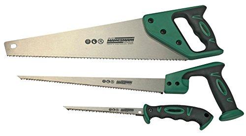 Brüder Mannesmann Werkzeuge M30115 Sägen-Set, 3-teilig, 3 Stück