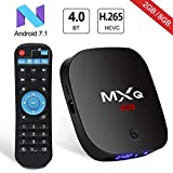 Android 7.1 TV Box Superpow MXQ MINI Android Box 2GB RAM+8GB ROM Quad-Core mit Bluetooth 4.0/ 3D/ 4k / 2.4Ghz Wifi / 100 LAN / H.265, HDMI Smart TV Box