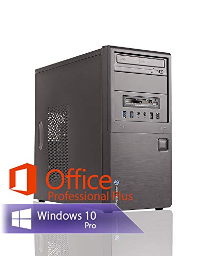 Ankermann Neu Business Office Work PC Intel i5 4570 4x3.20GHz NVIDIA GeForce 16GB RAM 240GB SSD 1TB HDD Windows 10 PRO W-LAN Office Professional Plus 2016 64bit (Key)