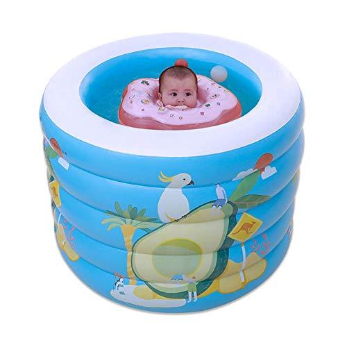 Aufblasbarer Schwimmbecken Für Kinder Baby, Blue Rundpool Wasser Toy Inflatable Swimming Pool Für Kinder.