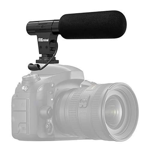 Video Mikrofon, Emiral Kamera Mikrofon, Shotgun Interview Mikrofon für Kamera / DV-Camcorder