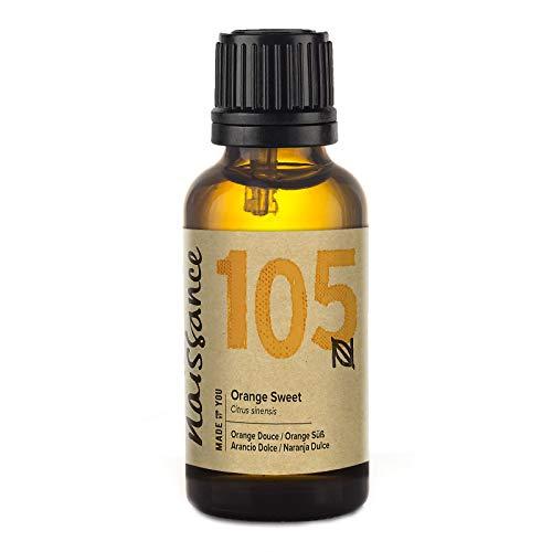 Naissance ätherisches Öl – Orange 30ml – rein, natürlich, kaltgepresst, tierversuchsfrei, vegan, unverdünnt – zur Anwendung in Aromatherapie, Massagemischungen & Duftlampen – erfrischendes Aroma