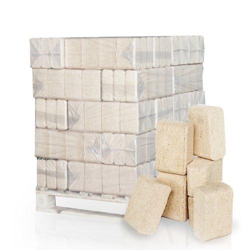 PALIGO RUF Holzbriketts Nadelholz Kamin Ofen Brenn Holz Heiz Brikett 10kg x 30 Gebinde 300kg / 1 Palette HEIZFUXX