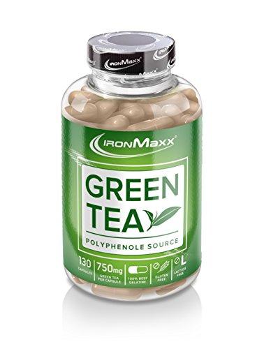 IronMaxx Green Tea / Grüntee-Extrakt in Kapseln / 1 x 130 Kapseln (115,4g)
