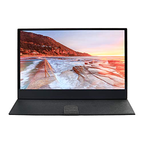 WIMAXIT, Tragbarer Touchscreen-Monitor, 13,3-Zoll-IPS-Ultradünne 1920x 1080 Bildschirm, 10 Kapazitiver Touch-HDMI-Monitor, 5 V 2A USB mit Strom versorgt, kompatibel für PS4 / PC/Switch