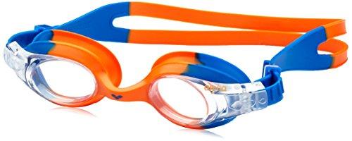 arena Unisex - Kinder Schwimmbrille X-Lite, blue_orange/clear, One size, 92377