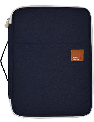 A4 Dokumententaschen Ausweistaschen Laptop Case Reiseorganizer mit Reißverschluss Lagerung Messenger Portable IPad Tasche Hand Day Pack für Travel