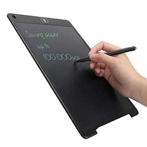 Neueste Design 12 Inch Grafiktabletts schreibtafel lcd Grafik Tablett papierlos digitales Malen und Rekord Mit Bildschirm blockieren und Anti-Clearance Funktion ideal Geschenk für Kinder usw