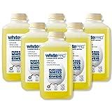 whitePRO Flüssiges Eiklar 6x 1kg Flaschen – 105 g reines Eiweiß pro Flasche