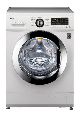 LG Electronics F1496AD3 Frontlader Waschtrockner / B / 8 kg / Weiß / 6 Motion DirectDrive / Smart Diagnosis