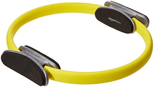 AmazonBasics - Pilates-Ring für Fitnessübungen und Widerstandstraining - 35,6 cm, Gelb