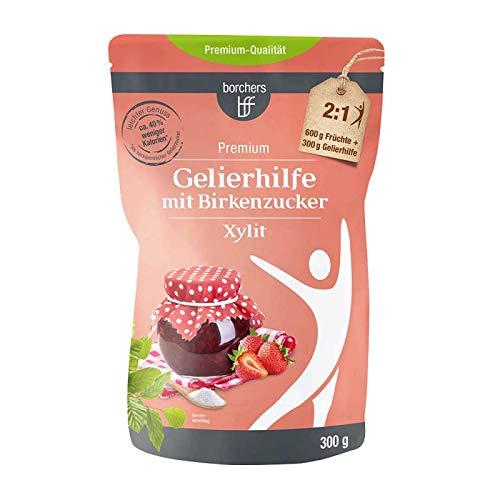 borchers Gelierhilfe mit Birkenzucker Xylit, für Fruchtaufstriche, Alternative zu Gelierzucker, Aus Finnland 300 g