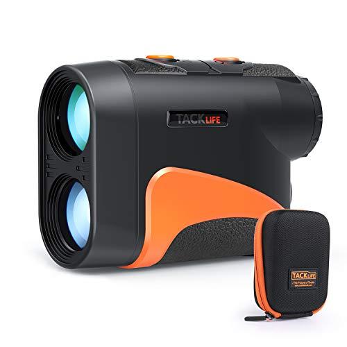 Entfernungsmesser Golf, Tacklife professionalles Neigungsmessung Rangefinder Outdoor Distanzmesser für Entfernung, Winkel und Höhe Messung MLR04 600M 6X Vergrößerung