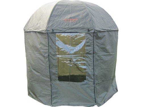 MK-Angelsport '5 Seasons Dome Schirm' Angelschirm Karpfenzelt Anglerschirm Angelzelt incl. Gummihammer