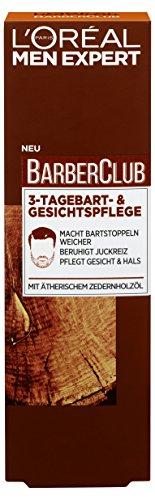 L'Oréal Men Expert Barber Club 3-Tagebart- und Gesichtspflege, 1er Pack (1 x 50 ml)