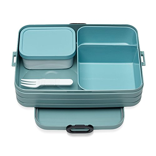 Mepal Bento Lunchbox Take a Break Large - Nordic Green TPE/pp/abs, 0 mm