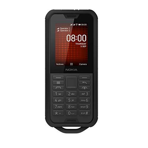 Nokia 800 Tough Outdoor Handy (6,1cm (2,4 Zoll), Dual-SIM, 4G LTE, KaiOS) Grey