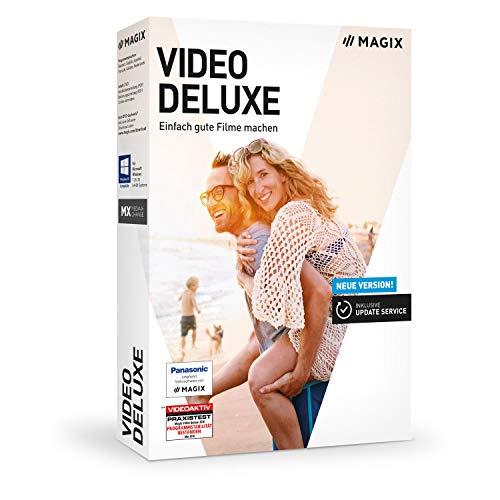 MAGIX Video deluxe 2019 – Videobearbeitung, die Spaß macht. |Standard|1 Device|1 Year|PC|Disc|Disc