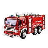 YeahiBaby Feuerwehrauto Spielzeug mit Licht LKW Modell Spielfahrzeuge für Kinder (Fire Sprinkler Truck)