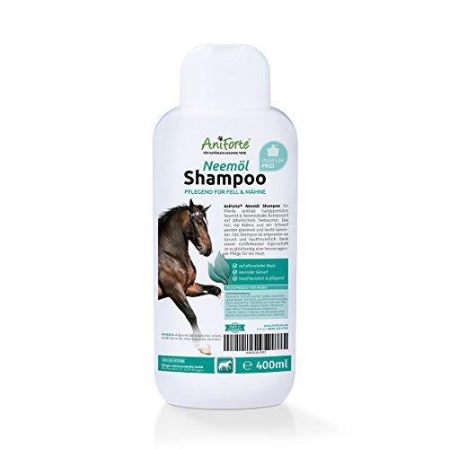 AniForte pflanzliches Neemöl Shampoo 400 ml - Naturprodukt für Pferde