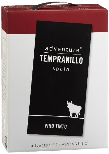Adventure Tempranillo Vino Tinto de Espana trocken Bag-in-Box (1 x 3 l)