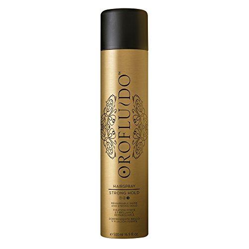 OROFLUIDO Strong Hold Hairspray Haarspray Starker Halt und Glanz, 500 ml