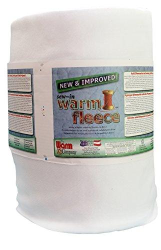Warm Company The 1880 Fleece, Volumenvlies zum Einnähen 91 x 114 cm, 100% Polyester