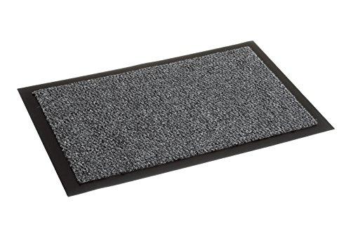 Carpido Nela, FS0610015040, Tuervorleger / Sauberlaufmatte, 100 % Polypropylen, 40 x 60 cm, grau
