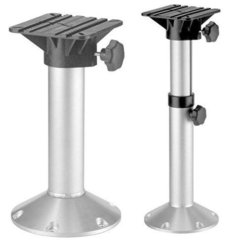 Stuhlfuss aus Aluminium für Bootssitz (500 - 750 mm)