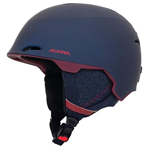 ALPINA Erwachsene Maroi Skihelm, Nightblue-Bordeaux matt, 57-61 cm