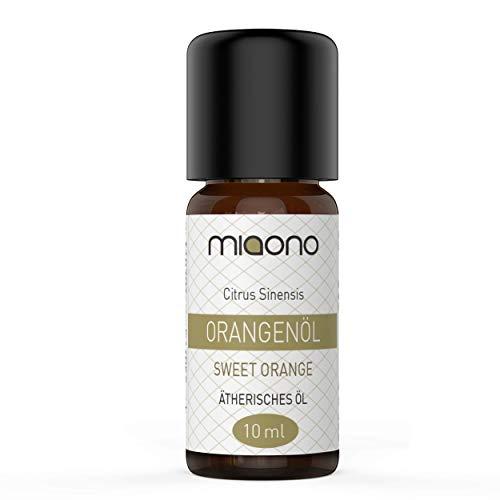 Orangenöl - 100% naturreines, ätherisches Öl (10ml) von miaono (Glasflasche)