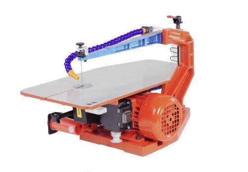 Hegner Dekupiersäge Multicut-1, präzise Elektro-Laubsäge für feinste Schnitte, integriertes Absaugsystem, auswechselbare Tischeinlage, Art.Nr. 01100000
