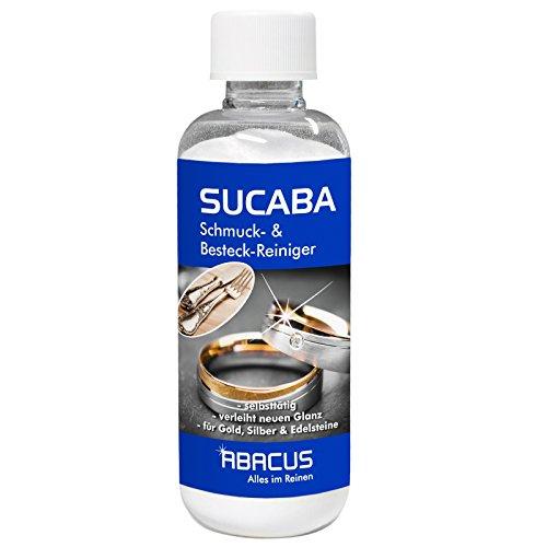 SUCABA 300 g (4548) -- ergibt 40 Liter gebrauchsfertiges Silbertauchbad Silberbad Reinigungsbad Silberreiniger Goldreiniger Edelsteinreiniger Edelmetallreiniger Unedel Metallreiniger