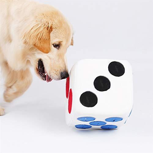 NIBESSER Schnüffelwürfel für Hunde, Hund Riechen Trainieren Spielzeug für Hunde, Schadstofffreies Hundespielzeug Fördert Natürliche Nahrungssuche, wie Schnüffelteppich