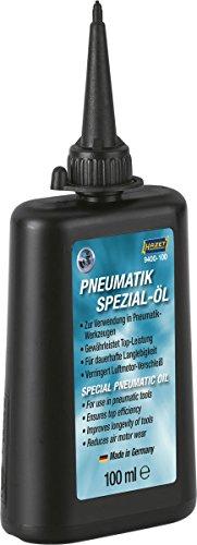 HAZET Pneumatik-Öl (Füllmenge: 100 ml, silikonfreies Spezial-Öl, direkte Verwendung dank Tülle) 9400-100