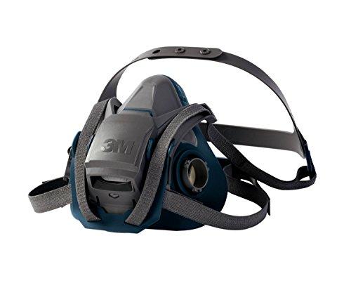 3M Atemschutz-Halbmaske 6502QL / Atemmaske mit Cool-Flow Ausatemventil & Quick-Release Mechanismus / Mehrwegmaske mit großer Filterauswahl für unterschiedlichste Einsatzzwecke