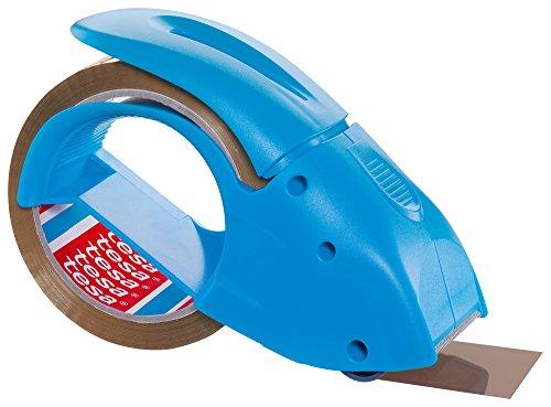 tesa  Packband Handabroller, pack 'n' go, blau