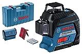 Bosch Professional Linienlaser GLL 3–80 (Nivelliergenauigkeit ± 0,2 mm/m, Arbeitsbereich mit Empfänger: 120 m, Tragetasche)